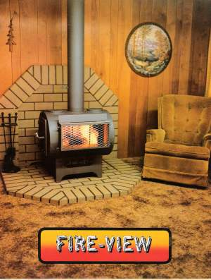 Fire View Wood Heater Model 230 Thomas744